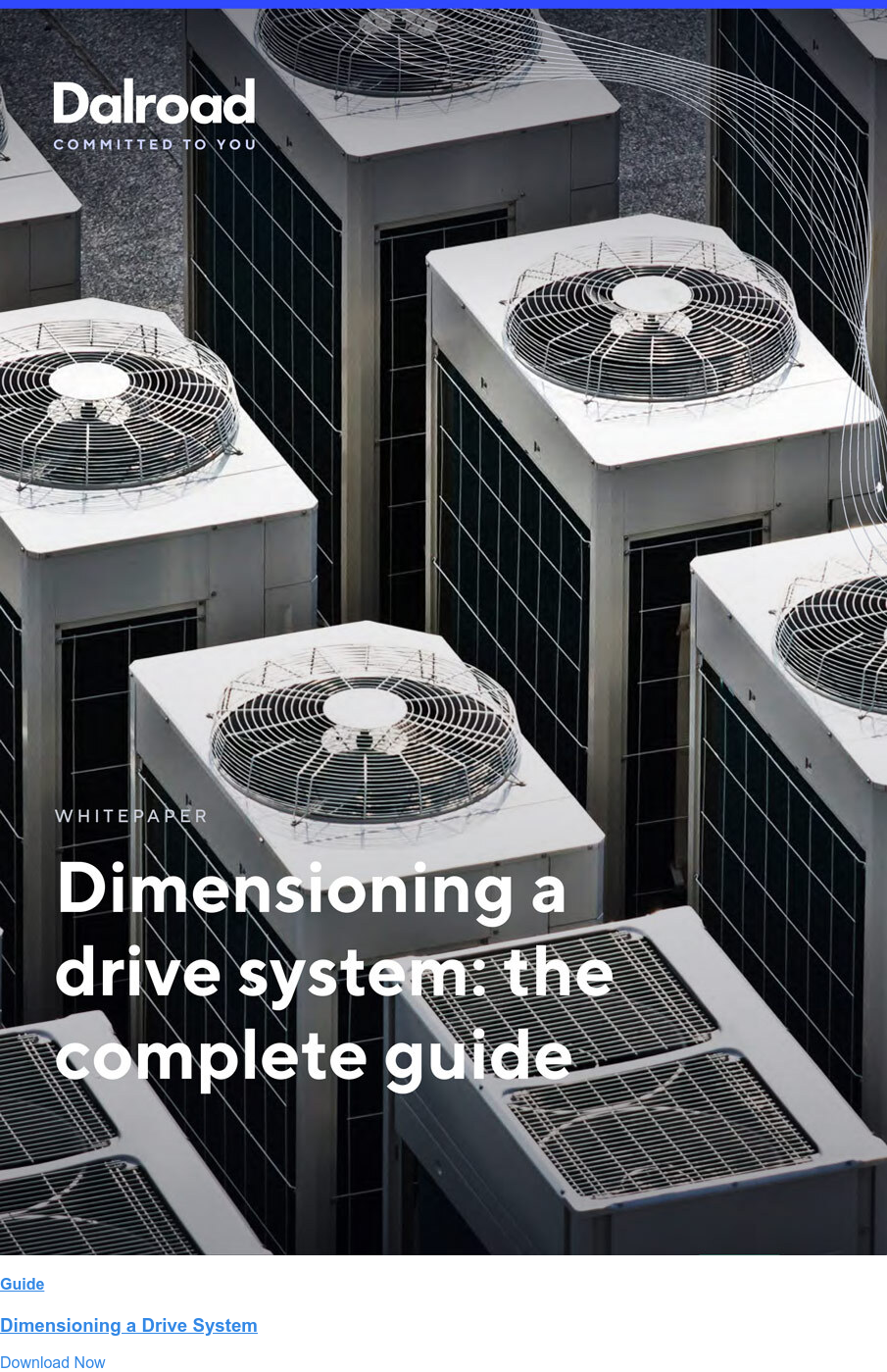 Guide  Dimensioning a Drive System Download Now