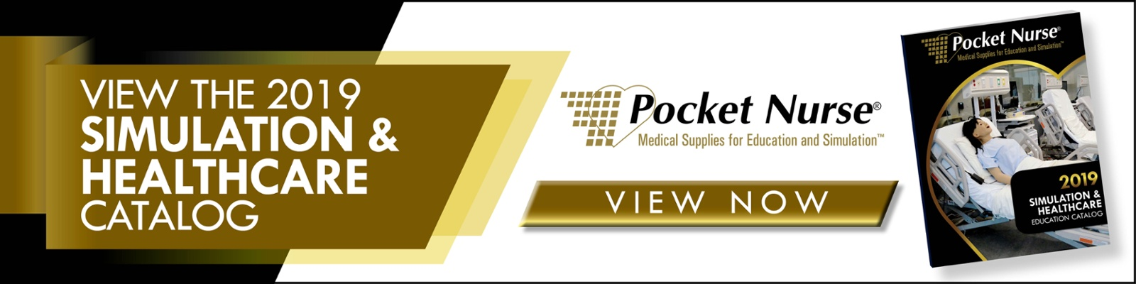 View the 2019 Pocket Nurse Simulation and Healthcare Catalog