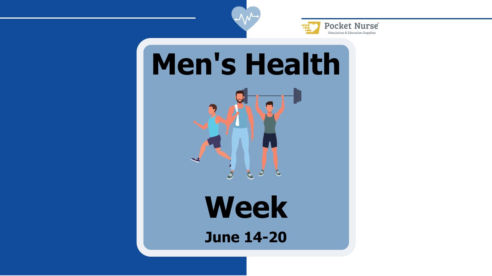 Pocket Nurse recognizes Men's Health Week