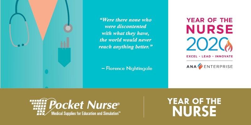 Pocket Nurse Celebrates the Year of the Nurse