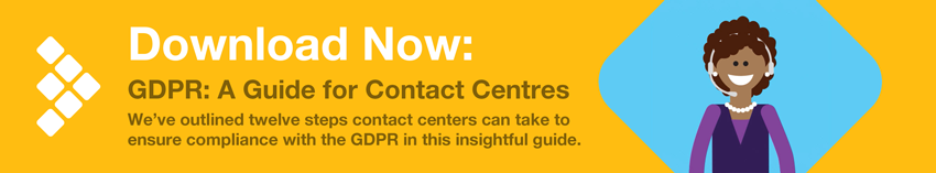 Download Now: GDPR Guide for Contact Centres