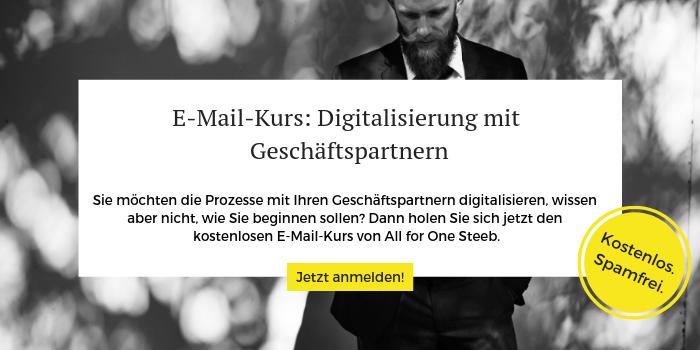 E-Mail-Kurs: Digitalisierung mit Geschäftspartnern