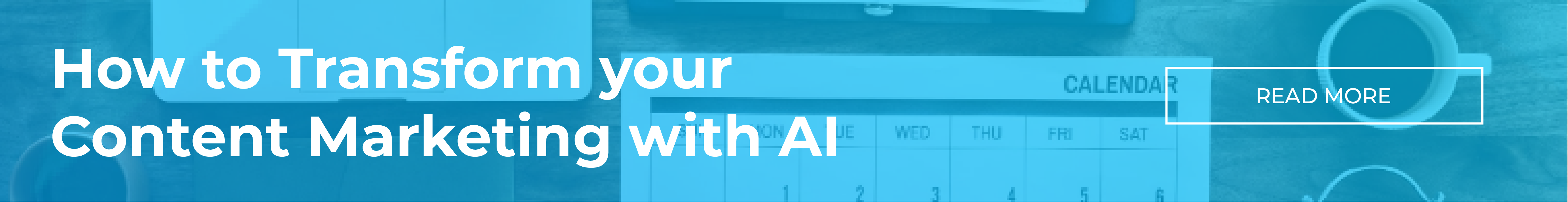 How to transform your content marketing with AI banner