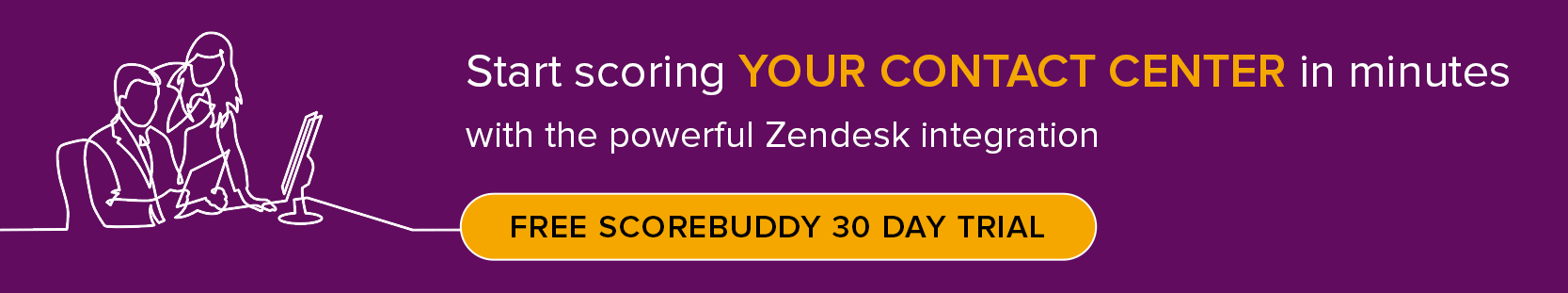 Zendesk integration for improved quality assurance in the call center