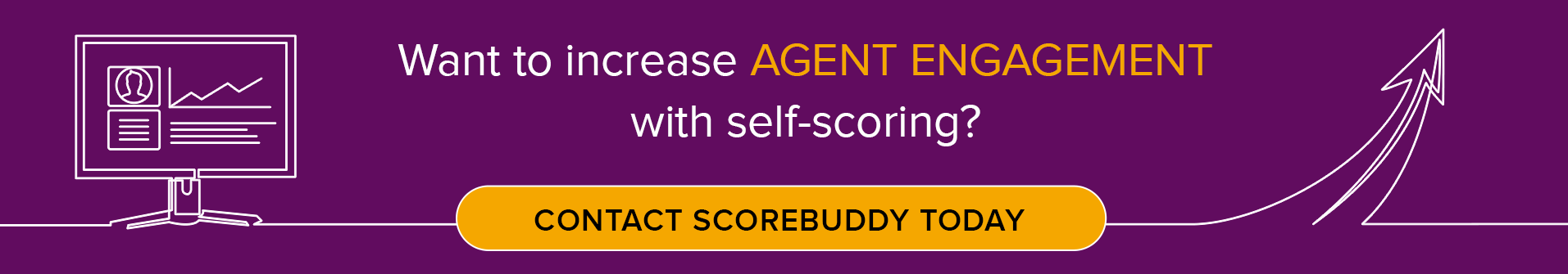Increase agent engagement with self-scoring