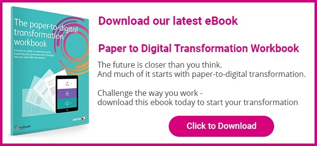 Download our ebook - Paper to Digital Transformation