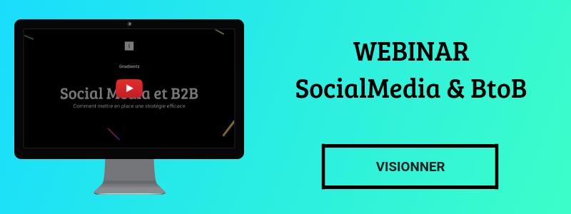 Webinar Socialmedia et BtoB - Rediffusion