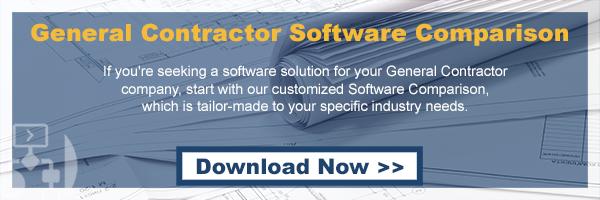 BLOG: General Contractor Software Comparison