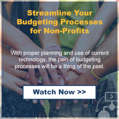 Streamline Your Budgeting Processes - webinar