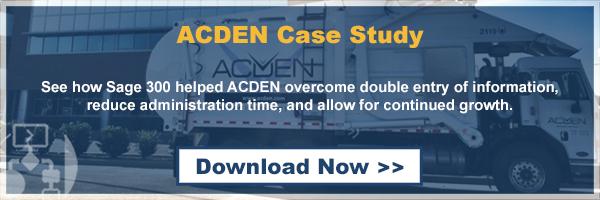 ACDEN Case Study
