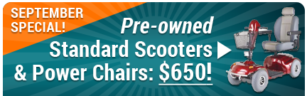 September Special | Scooters & Power Chairs $600!