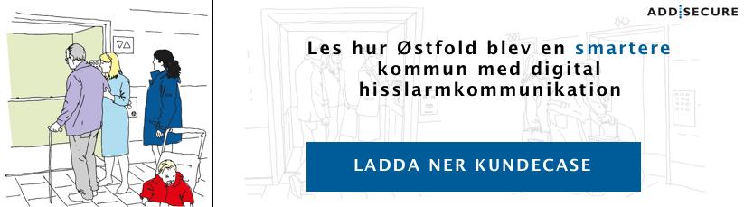 Hur Østfold blev en smartere kommun med digital hisslarmkommunikation
