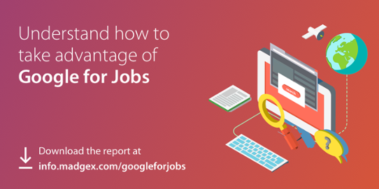 Madgex guide to Google for Jobs