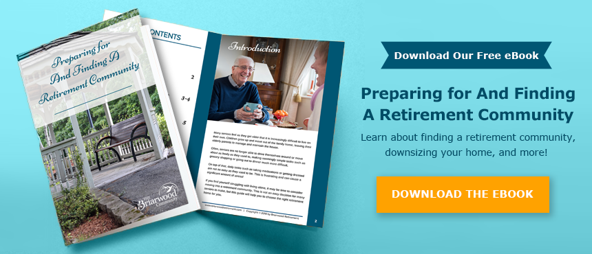 finding a retirement community