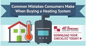 Download Common Mistakes When Buying a Heating system Checklist.