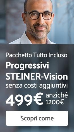 Occhiali Progressivi fatti su misura