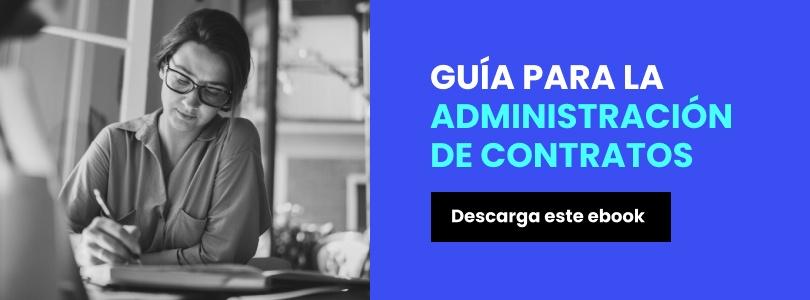 ebook: Guía para la administración del ciclo de vida de los contratos.