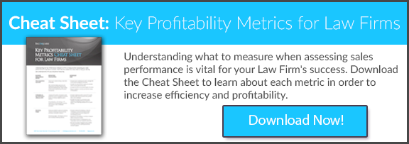 Key Profitability Metrics for Law Firms Cheat Sheet