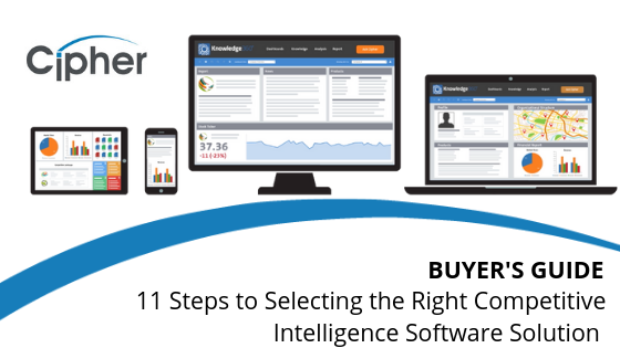 Competitive Intelligence Buyer's Guide