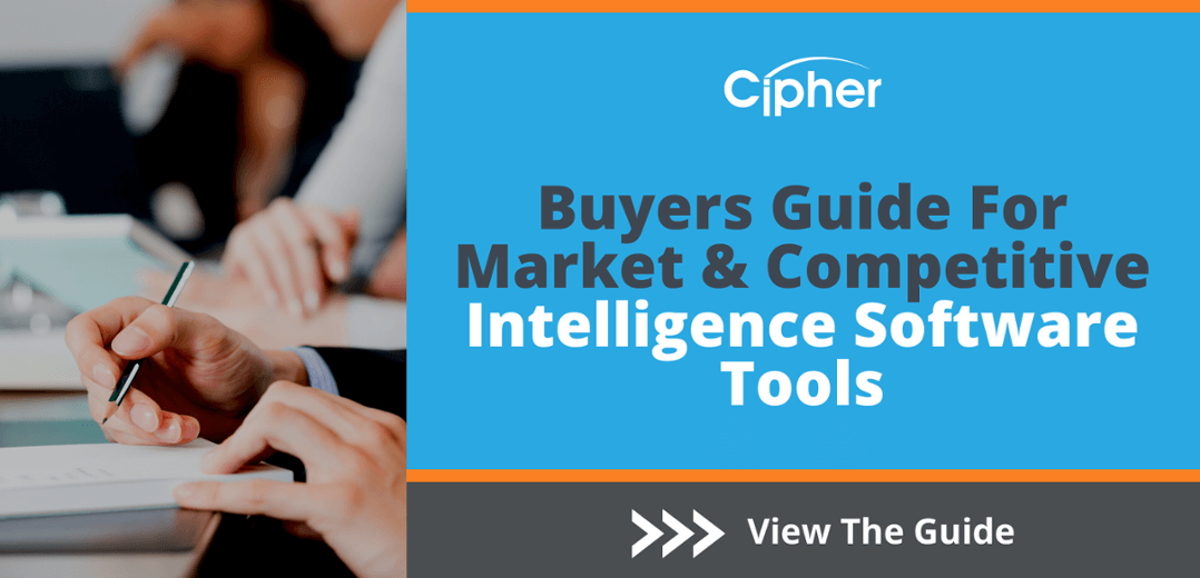 2020 Updated Competitive Intelligence Software Buyers Guide