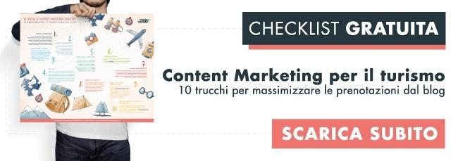 content marketing turismo trucchi blog aumentare prenotazioni