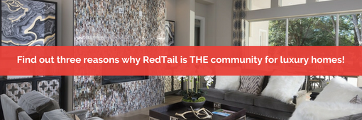 three reasons why RedTail is the community for luxury homes in Central Florida