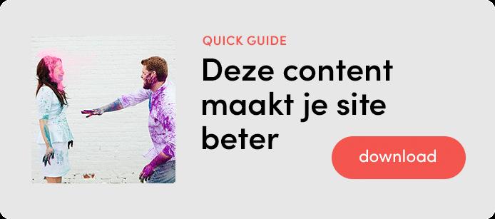Deze content maakt je site beter