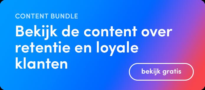 GX Software content bundle gebundelde content over het thema retentie en het creëren van loyale klanten