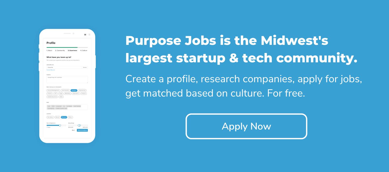 startup tech jobs