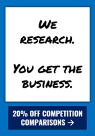 20% off competition comparisons