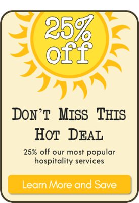 Save 25% in July with our hottest offer ever