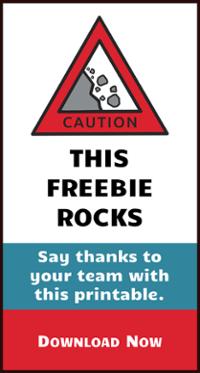 Download a free employee appreciation printable.