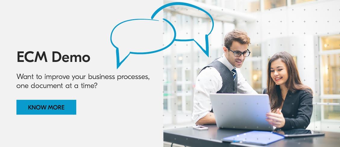 Book a demo of Kyocera's Enterprise Content Management platforms.