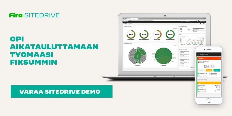 Varaa Sitedrive Demo