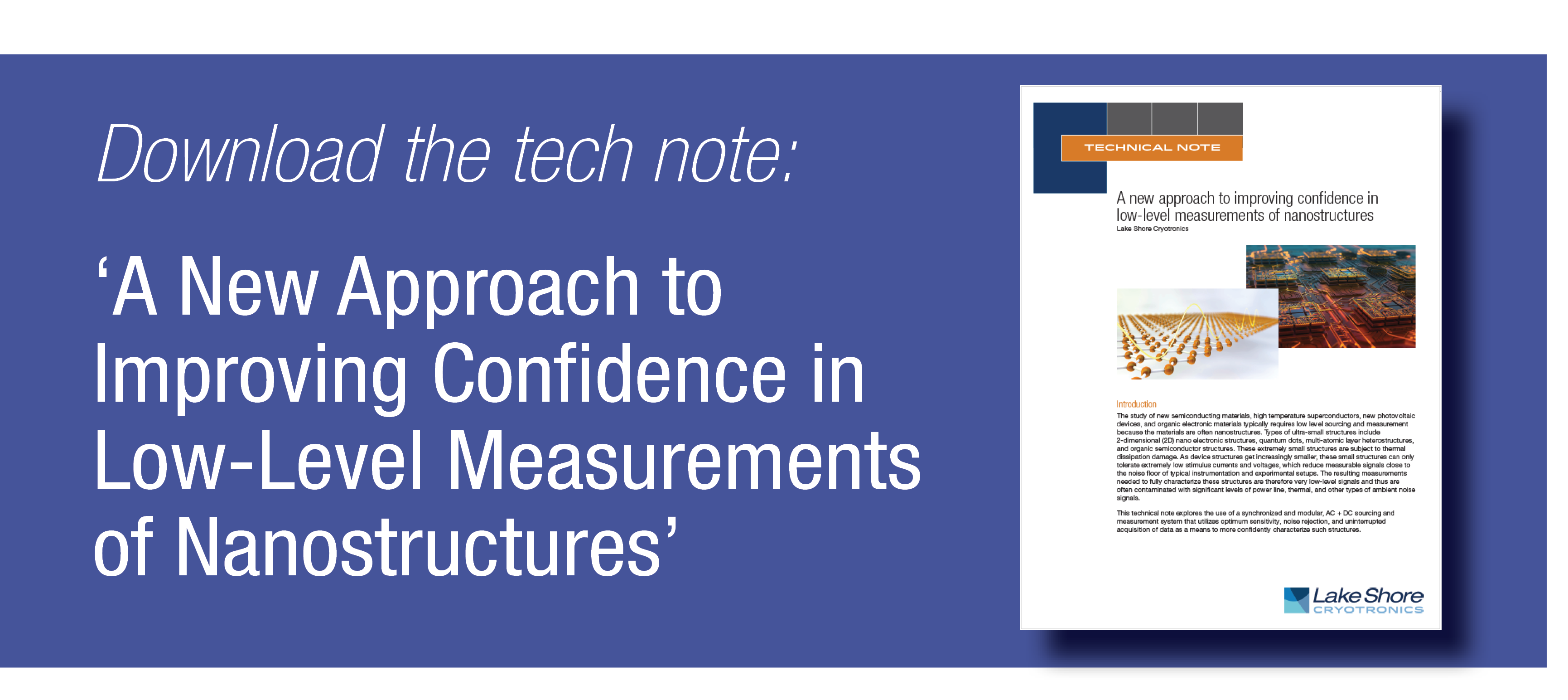 Download Nanostructure Measurement Tech Note