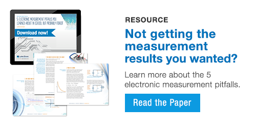 Learn more about 5 common electrical measurement pitfalls