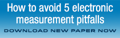 Download our free 5 pitfalls of electronic measurements paper