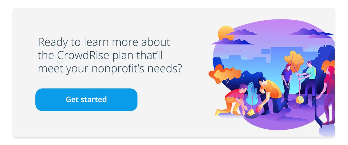 CrowdRise-Plan