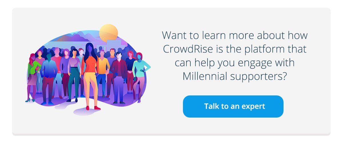 Engaging Millennial Supporters
