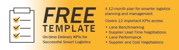 Free On-time delivery KPI Template