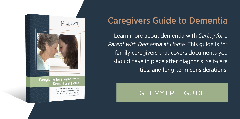 Caregiver's Guide to Dementia