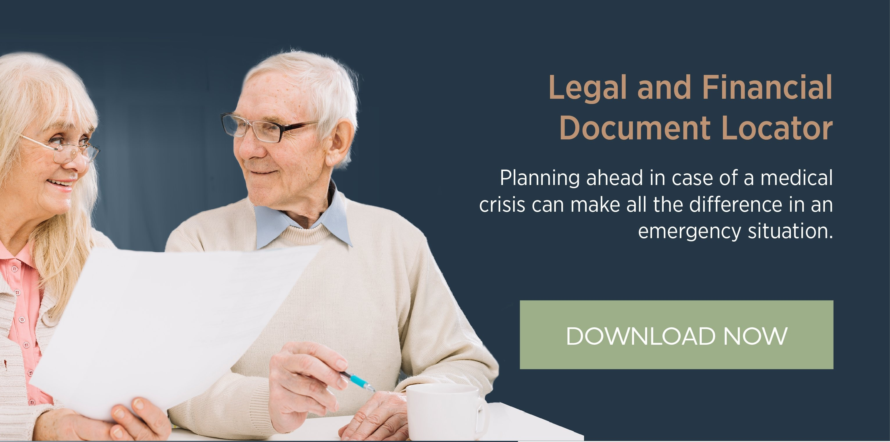 Legal & Financial Document Locator Checklist