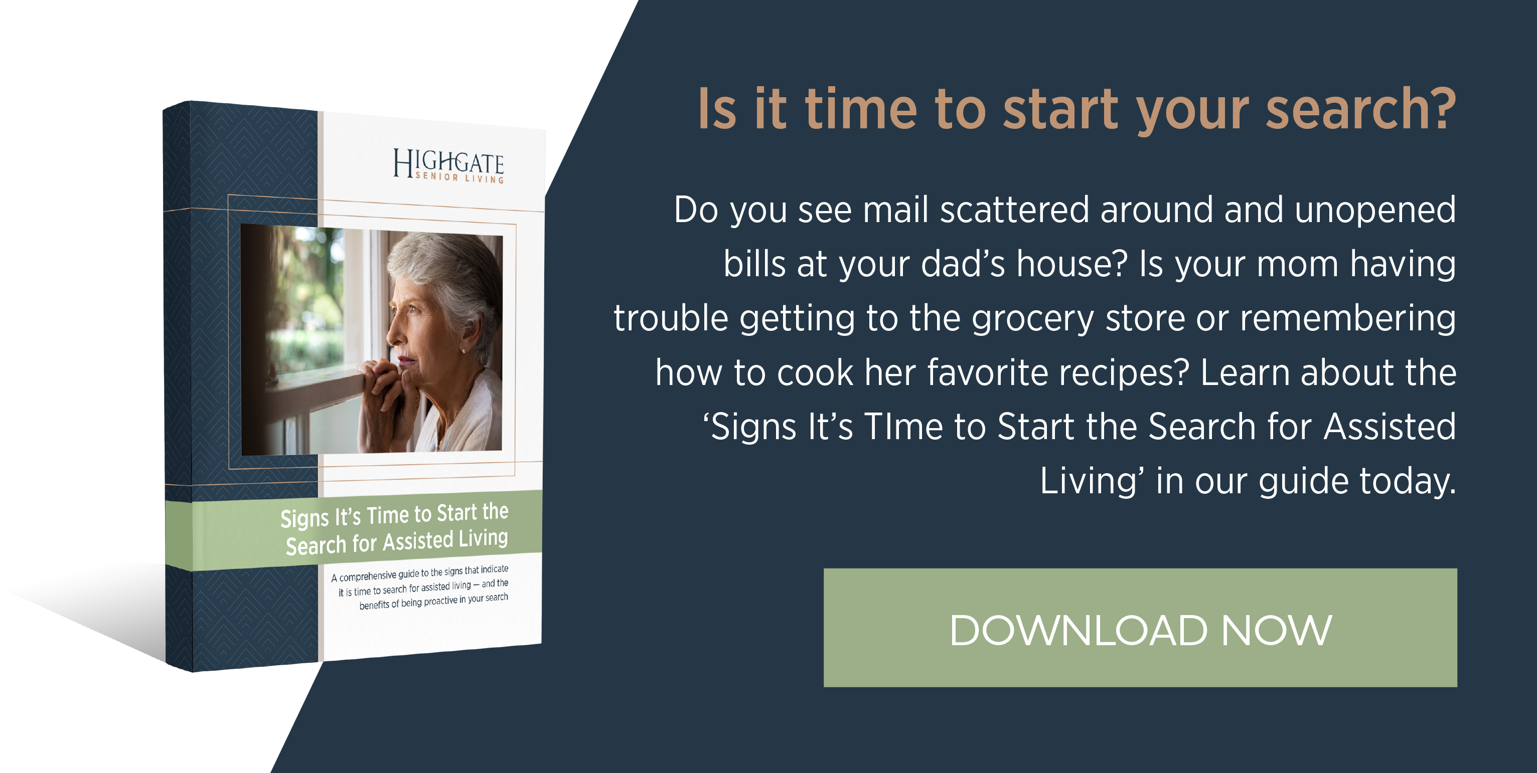 Signs It's Time to Start the Search for Assisted Living