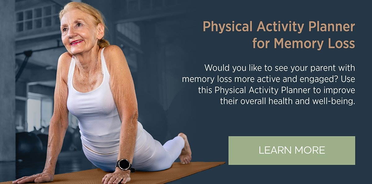 Physical Activity Planner for Memory Loss
