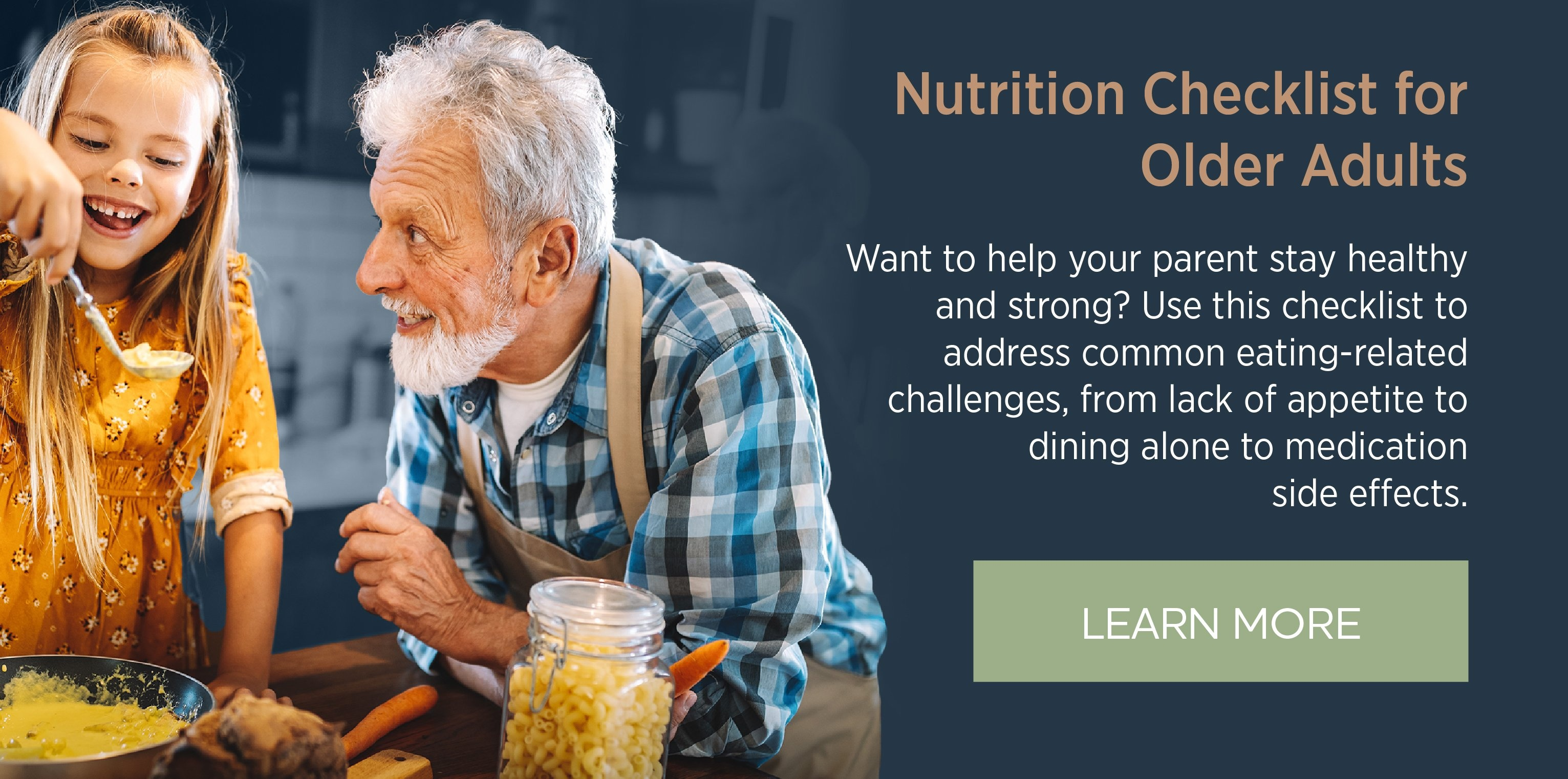 Nutrition Checklist for Older Adults