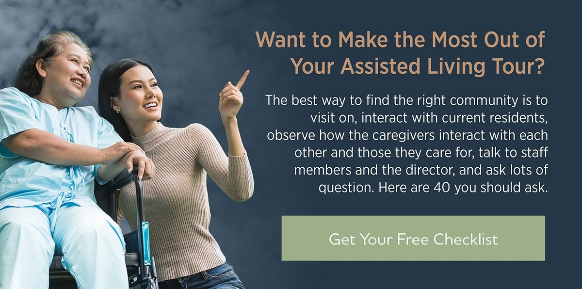 Questions to Ask When Touring an Assisted Living Facility