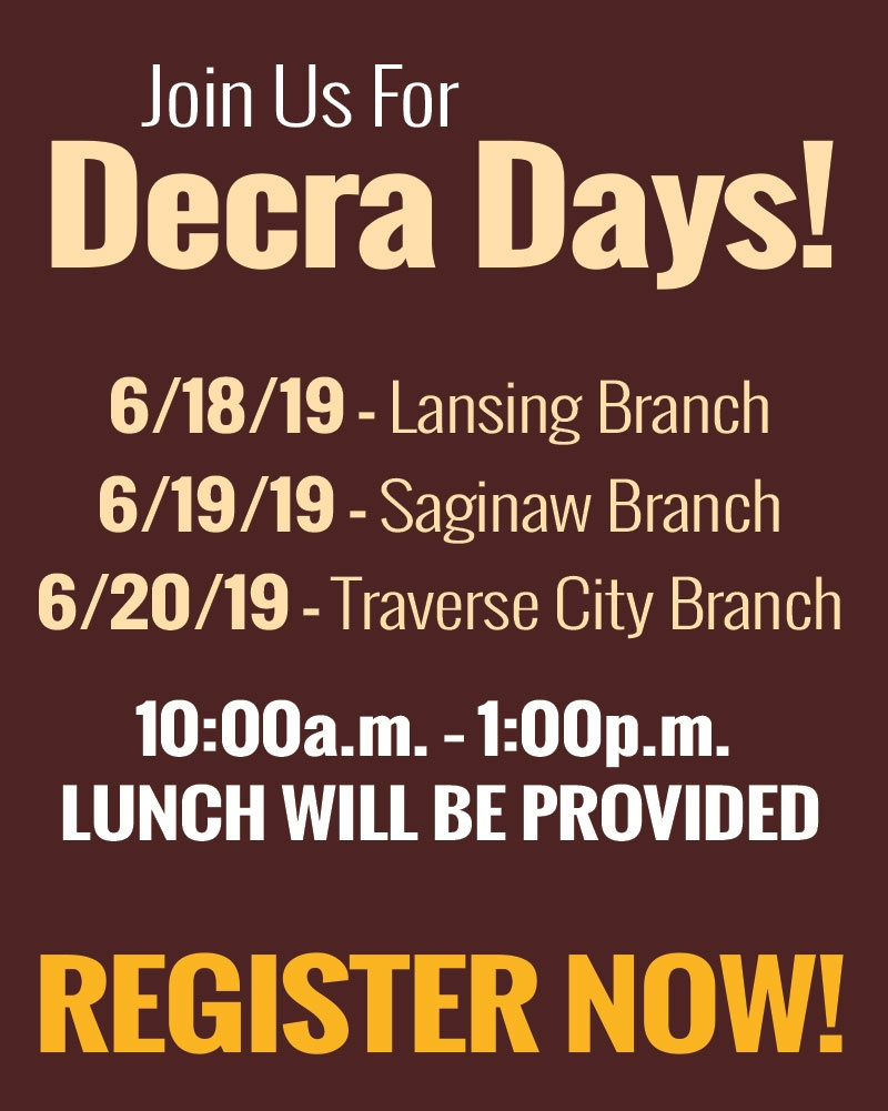 Register for Decra Days