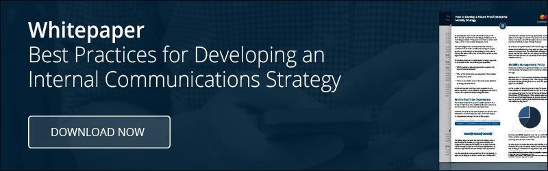 Best Practices for Developing an Internal Communications Strategy