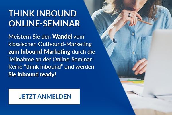 Think Inbound Online Seminar