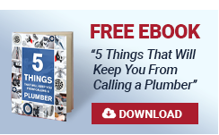 Free eBook '5 Things That Will Keep You From Calling a Plumber